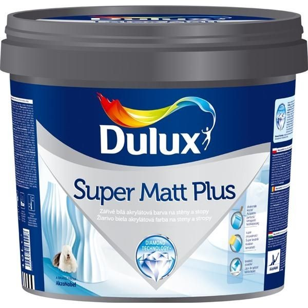 Dulux Super Matt Plus (10L) 15kg